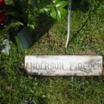 4-27-09 Anderson Pidcock Grave