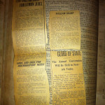 Clippings in Bible