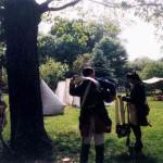 Hessian tents